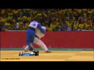 2013 World Championships Rio (-57kg Repechage) YAMAMOTO Anzu (JPN) - GJAKOVA Nora (KOS)