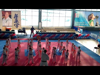 Чемпионат России-2013 по каратэ. Показательные выступления.