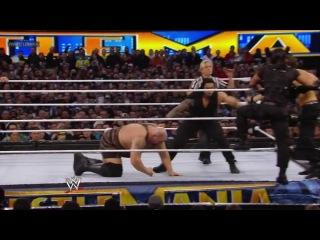 Wrestlemania 29 Sheamus, Randy Orton, Big Show vs. The Shield