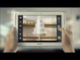 Реклама Samsung GALAXY Note 10.1
