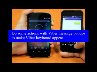 Exploiting Viber to bypass lock screen of Google Nexus 4 -w