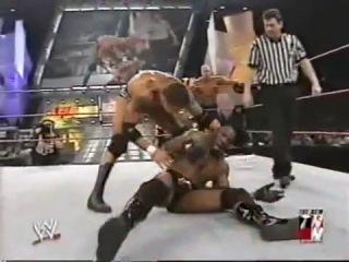 WWE RAW: Scott Steiner & Booker T Vs. Randy Orton & Batista (24 Февраля 2003)