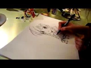 Как рисовать анимэшных девиц