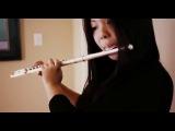 девушка сумела соединить флейту с бит боксом