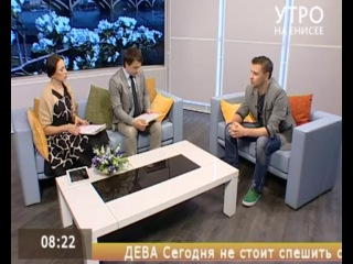 Актер Алексей Бураков на Енисей Регион ТВ