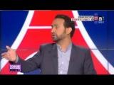 Мамаду Сако в студии французского телеканала после празднования чемпионства 17 мая и скандирования им АНти-ом кричалок