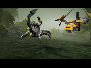 Lego Legends of Chima 70129 Лего Легенды Чимы Двухроторный вертолет Лавертуса