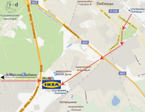 Ikea белая дача вконтакте