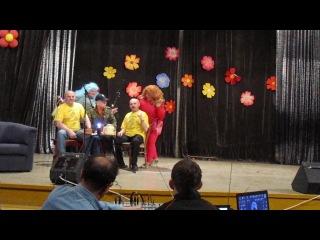 КВН 2013 Приветствие Землепроходцев часть 2