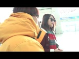 131121 Hyorin & Soyou @Incheon Airport