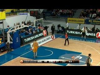 Баскетбол Евролига 2012 13 Топ 16 Группа F 12 й тур Химки Россия Фенербахче Турция НТВ