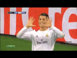 Бавария Мюнхен 0-4 Реал Мадрид Лига чемпионов 2013-2014 2 матч получинал