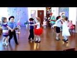 8 марта (средняя группа) танец с балалайками