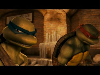 TMNT Leonardo vs Raphael - The Plagues