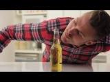 Как открыть пиво не прикасаясь к бутылке [Not vine]