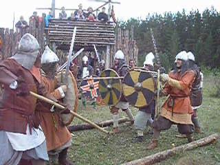 БРАТИНА бои пятерок: Варяг и Шторм (товарищеский бой)