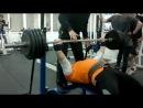 ЖИМ 185 кг НА 2 РАЗА ( ПАВЕЛ ШИПУЛОВ )