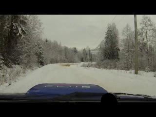 зимнее ралли наш заезд.