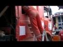 МАЗ ремонт на бивуаке. Дакар-2013