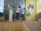 Драм-степ под Катюшу) я танцую в нашей школе