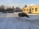 Volvo 740 drift