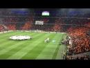 Гимн лиги чемпионов на матче Шахтер-Манчестер Юнайтед
