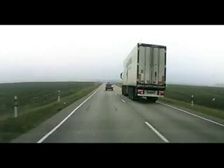 Помощь на трассе от дальнобойщиков