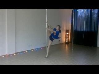 Мария Лубкина, преподаватель pole sport в студии ...ФА