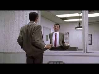 Мистр Бин в зеркале. | TOPV IDEO |