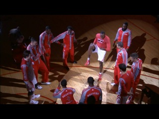 The Houston Rockets Do a Pre-Game Combat Skit