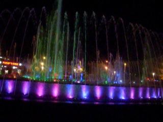 Поющий фонтан в г. Мармарис Турция