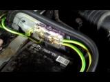 Проклейка, новая акустика салона ML 320 w163 (часть 2)