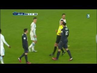 Joey Barton critique le nez de Zlatan (27/02/13) PSG-OM