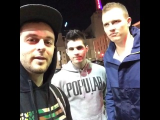 We had real cops play a prank on jerome jarre and christian delgrosso for jaywalking on my instagram  curtis lepore (vine)