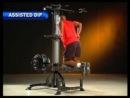 Тренажер гравитрон для приседаний, подтягиваний, отжиманий Powertec Lever Gym TM Chin Dip Assist Plus L-CDA13