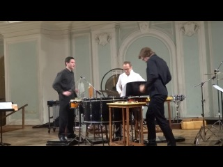 Небойша Йован Живкович «Трио для одного» ч1 Трио для ударных инструментов,