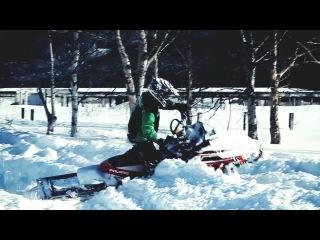 Экстремальные шоу-гонки на снегоходах Freedom Element!!!