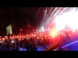 Земфира - Жить в твоей голове (сердечки) (Москва 13.12.2013)Флэшмоб