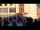 Новогодний флэш-моб в Снежинске, 21.12.2013.