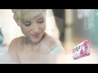 Бренда Гандини в рекламе мыла Mar