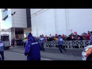 олимпийский огонь в сочи 6 февраля