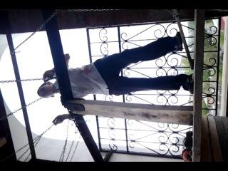 Это я играю на колоколах в Сретенском))