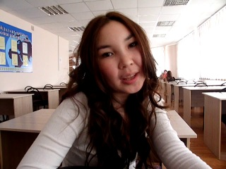 интервью Айжан. я и Аза лопаемся от смеха за кадром)))