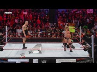 WWE TLC 2009: TLC WWE Tag Team Championship: Jeri-Show (Chris Jericho & Big Show) vs. D-Generation X (Triple H & Shawn Michaels)