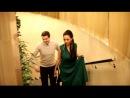 Наша свадьба. Приехали в Москву, гости ожидают в рестране. Первая поднимается Алишка и Пашка, который нас встречал внизу