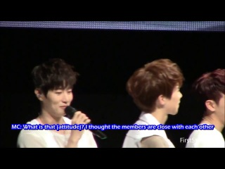 [eng sub] 130824 live event in japan real 100% physical strength game part 2