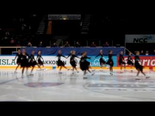 Моя дочь на чемпионате Финляндии. Отборочные соревнования по синхронному фигурному катанию