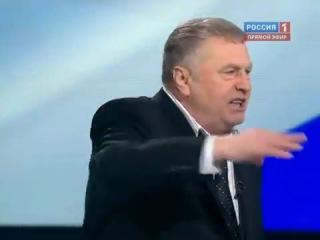 В.Жириновский против А.Пугачёвой на передаче Поединок