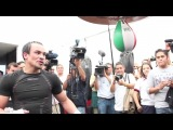 Хуан Мануэль Маркес: Работа на пневматической груше
