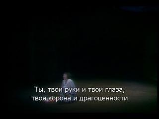 Равель Дитя и волшебство - Buchan, Kimm, Walker, Loup; Rattle. Glyndebourne, 1987 (русские субтитры)